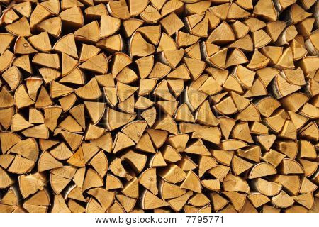 Beautifully Combined Birch Fire Wood