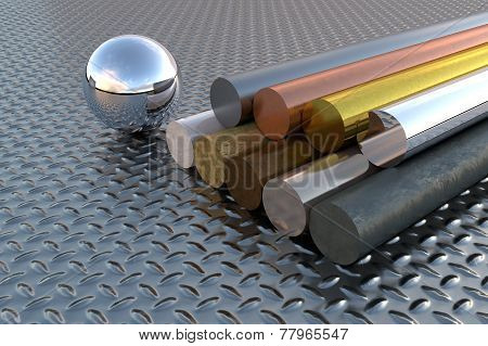 Various Steel Elements