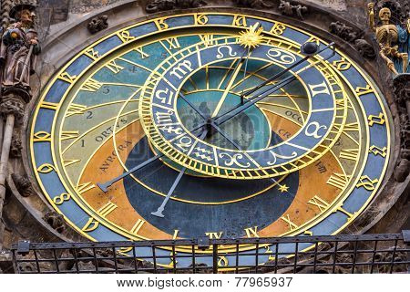 Astronomical Clock. Prague.