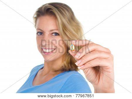 Woman Show Omega 3 Capsule