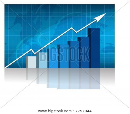 Business success - graph