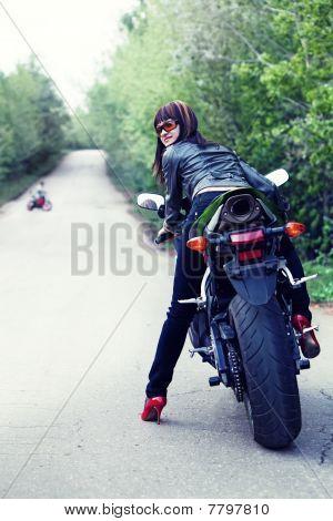 Pretty Biker