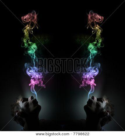 Rainbow Smoking