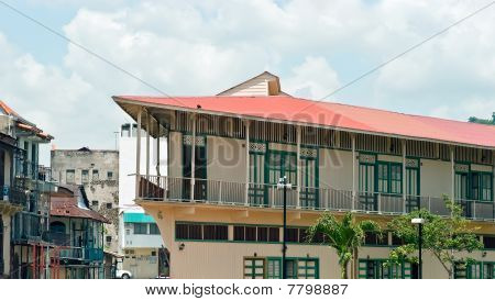 Panama City Old Houses
