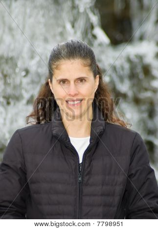 Single White Middle aged Female With Brown Hair