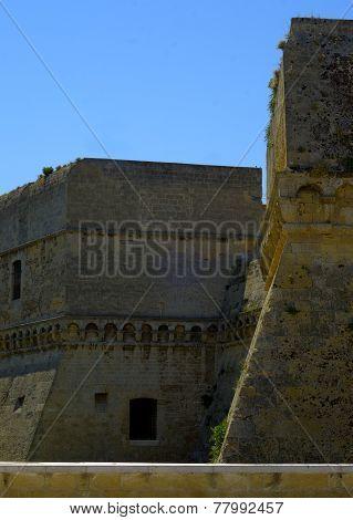 Detail Swabian Castle Bari -