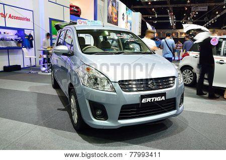 Nonthaburi - December 1: Suzuki Ertiga Car Display At Thailand International Motor Expo On December