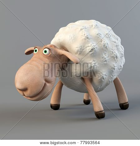 Funny sheep