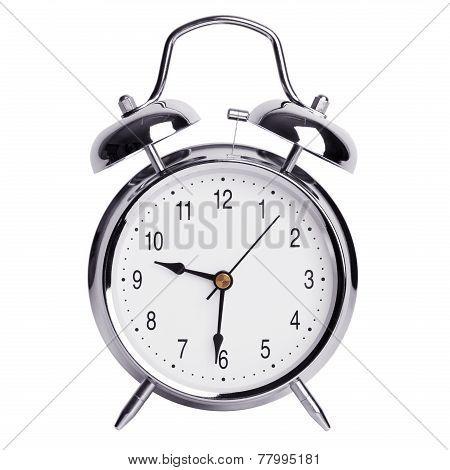 Half Past Nine On An Alarm Clock