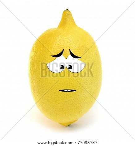 Sad lemon