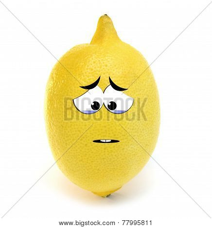 Crying lemon