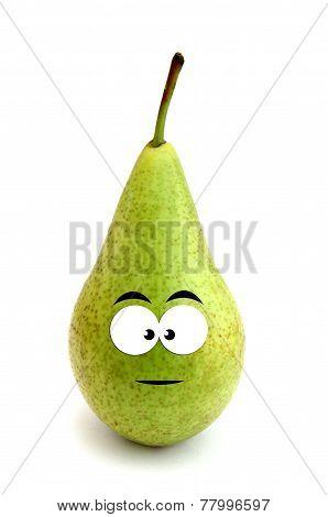 Serious pear