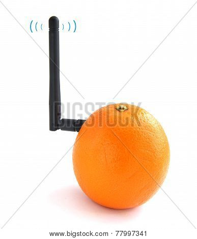 Orange connected to Wi-Fi