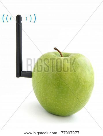 Apple connected to Wi-Fi