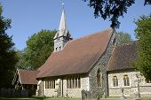 stock photo of church-of-england  - Church of Saint Peter and Holy Cross at Wherwell - JPG