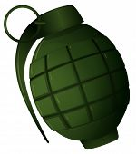 picture of grenades  - Illustration of a hand grenade - JPG