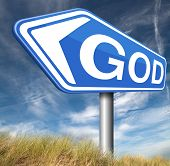 picture of praises  - God and salvation search road to heaven religion god belief and praise the lord  - JPG