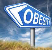 picture of obese  - obesity and over weight or obese people suffer eating disorder and can be helped by dieting  - JPG