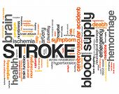 picture of hemorrhage  - Stroke  - JPG