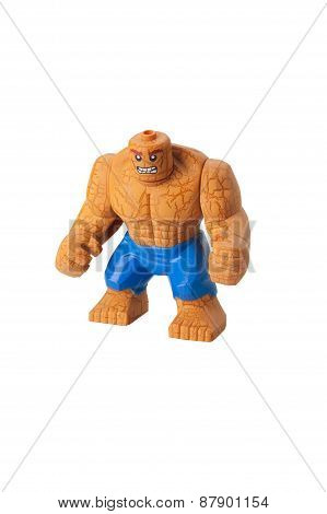 The Thing Custom Lego Minifigure