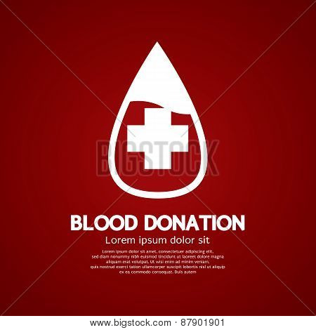 Blood Donation Graphic.