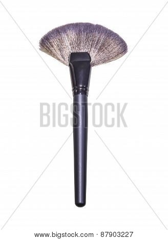 Make Up Brush Powder Blusher Isolated
