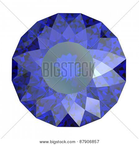 Jewelry Background with  gemstones. Sapphire