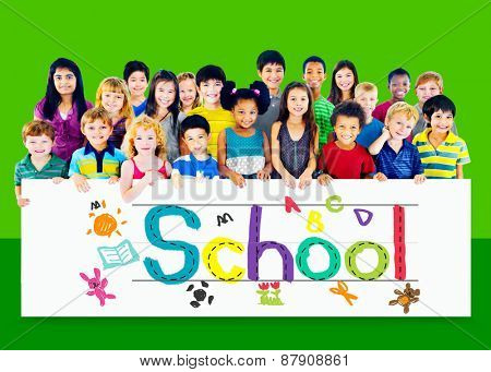 Children Kids School Concept