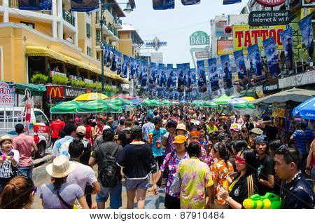 Songkran Street Party