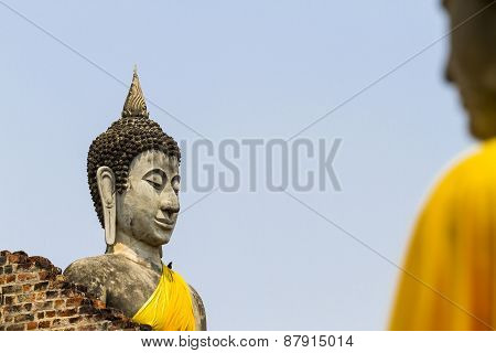Sharp And Blur Buddha