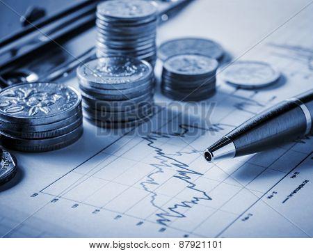 Stock exchange concept
