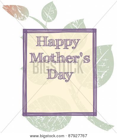 grunge mothers day background