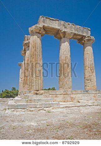 Columns of the Temple of Apollos at Corinth