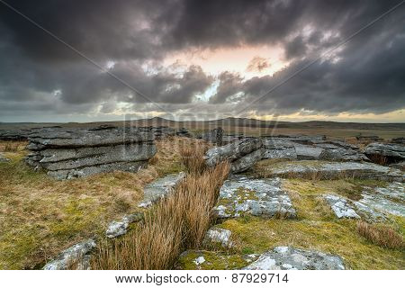 Moody Skies Over Bodmin Moor