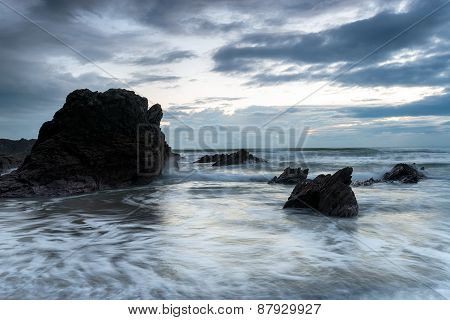 Rocks At Whitsand Bay