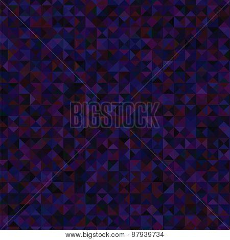 Dark Blue Polygonal Background.