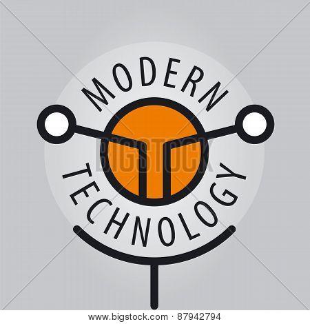 Abstract Vector Logo Antenna Technology