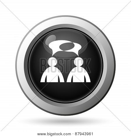 Comments Icon - Men With Bubbles