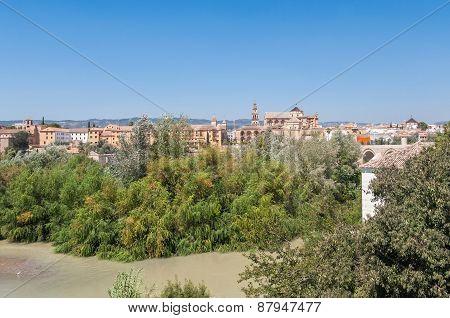 Panorama Of Cordoba In Spain