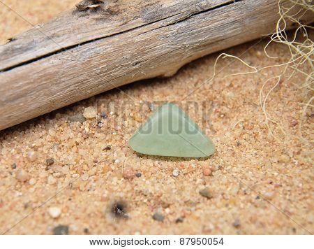 Topaz On Beach