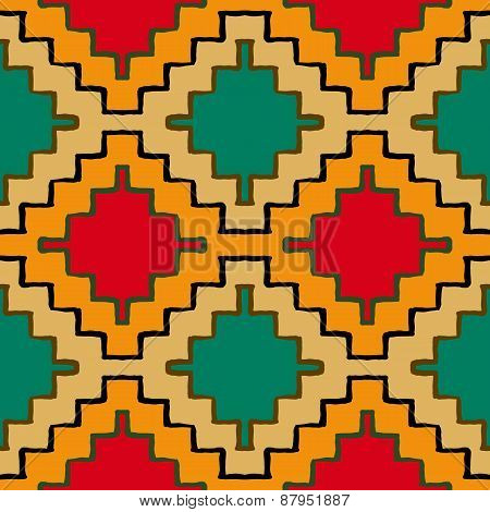 Vector navajo tribal ornament