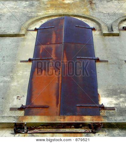 Rusted Iron Window