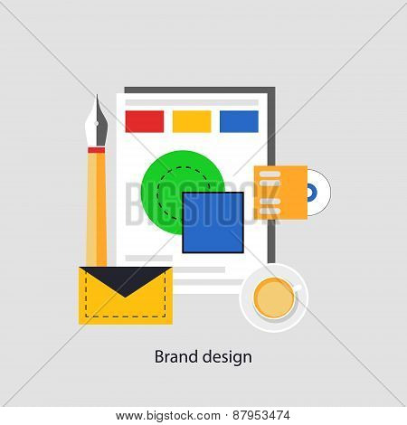 Brend Design Concept