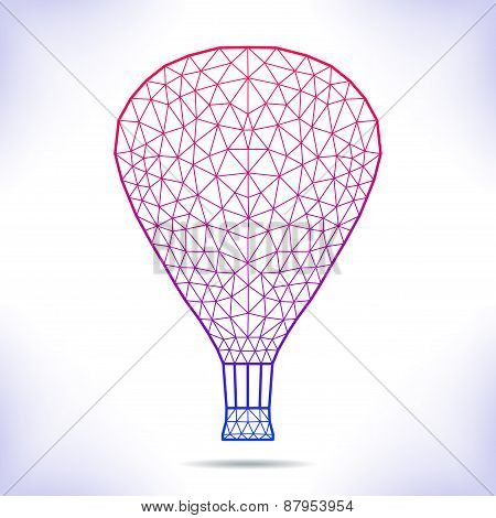Geometric Air Ballon.