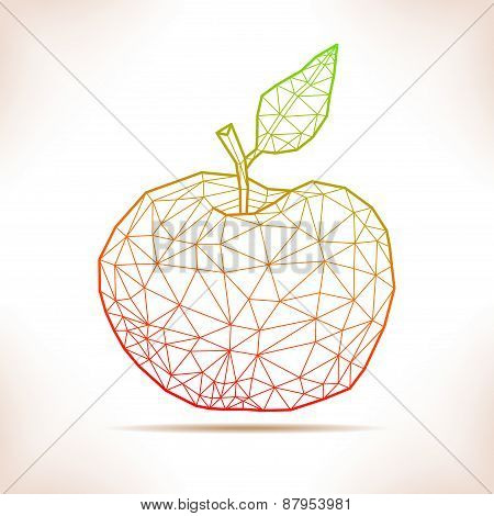 Geometric Apple.