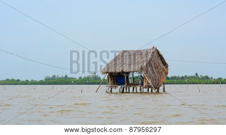 Shacks On The Sea