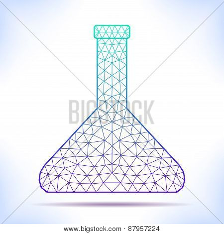 Geometric Flask.