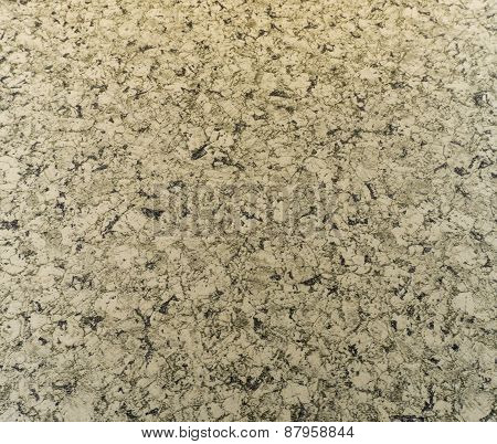 Marble Granite Rock Surface With Black Pattern