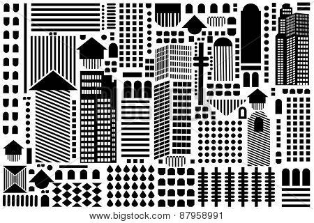 Geometric background pattern  - access swatch