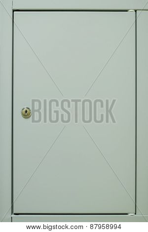 Locker door